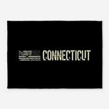 Black Flag: Connecticut 5'x7'Area Rug
