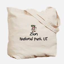 Zion National Park (Girl) Tote Bag