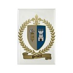 POTHIERS Family Crest Rectangle Magnet (10 pack)