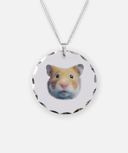 Hamsters; Syrian Hamster Necklace