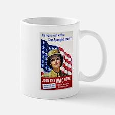 WAC Star-Spangled Heart Mug