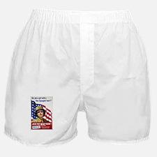 WAC Star-Spangled Heart Boxer Shorts