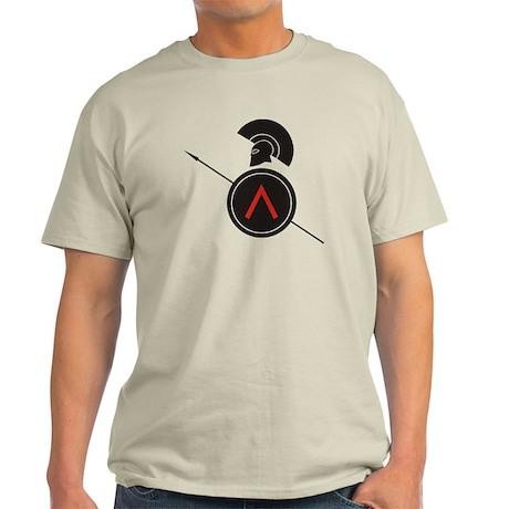 Greek Warrior Light T-Shirt