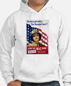 WAC Star-Spangled Heart (Front) Hoodie