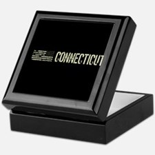 Black Flag: Connecticut Keepsake Box