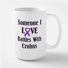 Crohns Large Mug