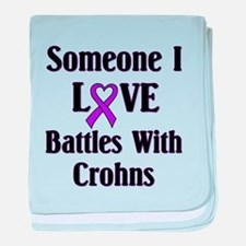 Crohns baby blanket