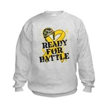 Battle Childhood Cancer Sweatshirt