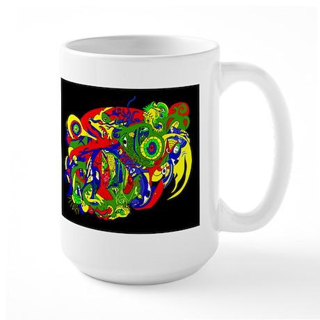 GodWeird-MultiColor- Large Mug