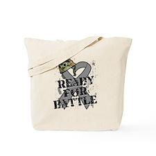Battle Brain Cancer Tote Bag