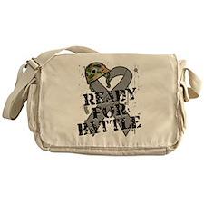 Battle Brain Cancer Messenger Bag