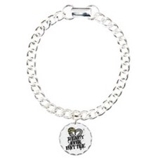 Battle Brain Cancer Charm Bracelet, One Charm