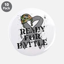 "Battle Brain Cancer 3.5"" Button (10 pack)"