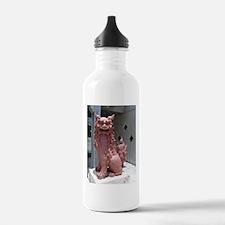 Red Shisa 2 Water Bottle