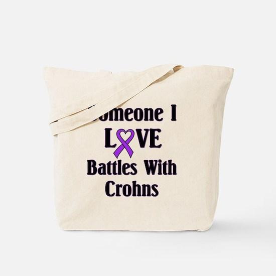 Crohns Tote Bag