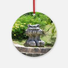 Churaumi Shisa Ornament (Round)