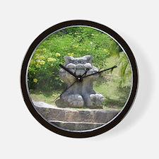 Churaumi Shisa Wall Clock
