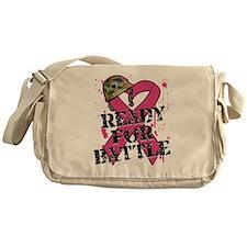 Battle Breast Cancer Messenger Bag