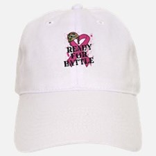 Battle Breast Cancer Baseball Baseball Cap