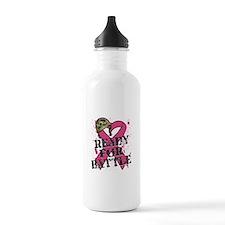 Battle Breast Cancer Water Bottle