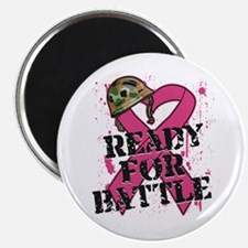 "Battle Breast Cancer 2.25"" Magnet (100 pack)"