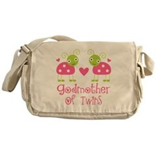 Godmother Of Twins Messenger Bag