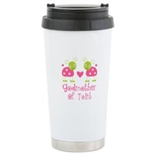 Godmother Of Twins Travel Coffee Mug