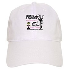 Halloween 1 Breast Cancer Baseball Cap