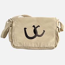 Lucky horseshoes Messenger Bag