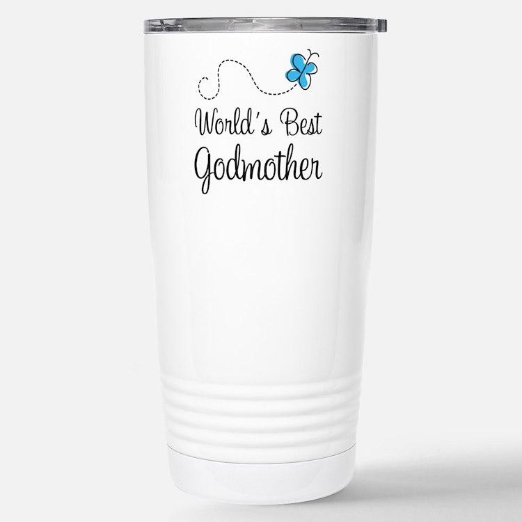World's Best Godmother Travel Mug