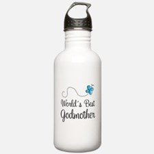 World's Best Godmother Water Bottle