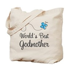 World's Best Godmother Tote Bag