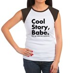 Cool Story Babe Women's Cap Sleeve T-Shirt