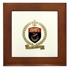 DUMOND Family Crest Framed Tile