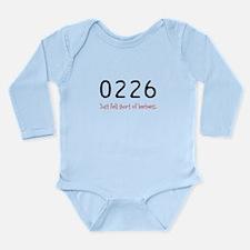Cute 1337 Long Sleeve Infant Bodysuit