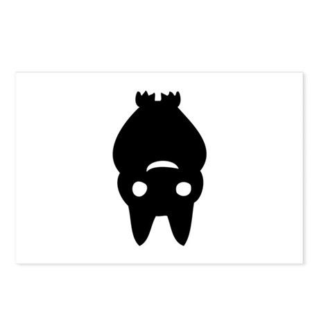 Funny Bat Postcards (Package of 8)