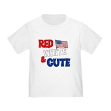 Red white and cute T