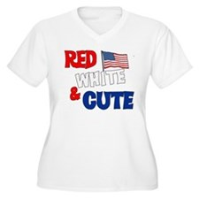 Red white and cute T-Shirt