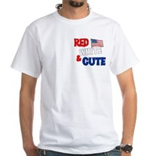 Red white and cute Shirt