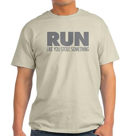 Run Like You Stole Something Light T-Shirt