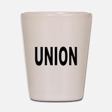 Union Shot Glass