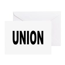 Union Greeting Card