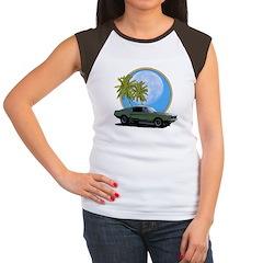 67 Mustang Women's Cap Sleeve T-Shirt