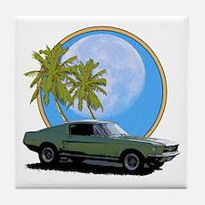 67 Mustang Tile Coaster