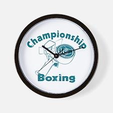 Packing Boxing Shipping Wall Clock