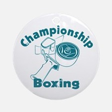 Packing Boxing Shipping Ornament (Round)