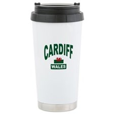 Cardiff Wales Travel Mug