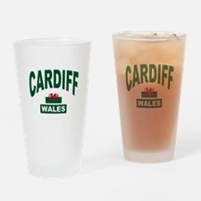 Cardiff Wales Drinking Glass