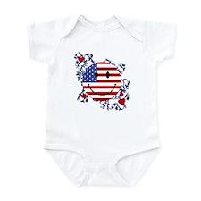 Fourth 4th Of July Infant Bodysuit