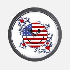 Fourth 4th Of July Wall Clock